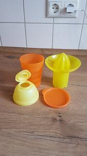 Tupperware - Zitruspresse Shaker Becher in einem