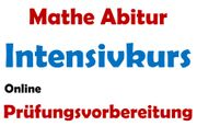 Intensivkurs Mathe Abi Online Prüfungs