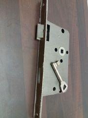 Einsteckschloss Buntbart links mit Schlüssel