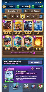 Clash Royal Account Max Level
