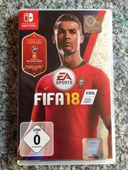 Nintendo SWITCH Spiel FiFa 18