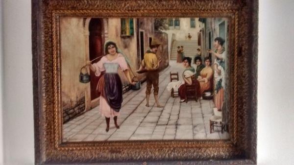 Zu verkaufen schönes großes Gemälde