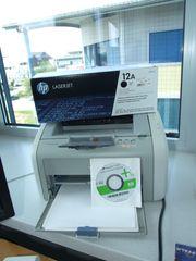 HP Laserjet 1020 inkl Ersatz-Tonerkartusche