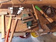 schraubstock waage hammer Schlüssel set