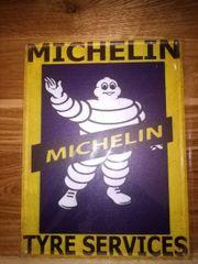 vintage Blechschild Michelin