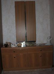 Friseurkommode mit aufklappbaren Spiegel Abholung