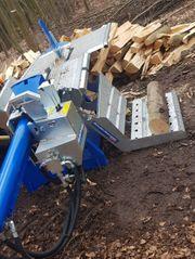 Holz Spalten Brennholz Holz Lohnspalten
