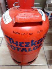 Tyczka Propangasflasche 11kg Gas Tauschflasche
