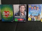 Serien DVD Boxen und Filme