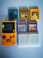 Nintendo Gameboy Color Pokemon Kristall