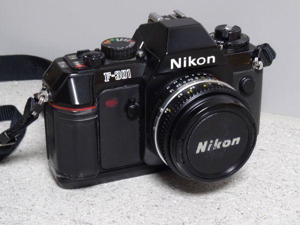 Verkaufe Spiegelreflex-Kleinbild-Kamera Fabrikat Nikon F