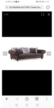 Big Sofa garnitur Gutmann factory
