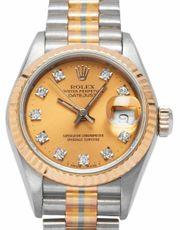 Rolex Lady-Datejust 69179 Gelbgold Automatik