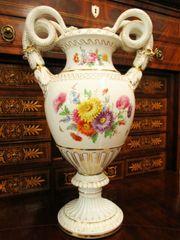 Große Meissen Teichert Blume Vase