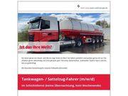 Tankwagen- Sattelzug-Fahrer m w d