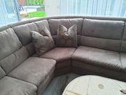 Himolla Sofa Couch Schlafsofa L-Form