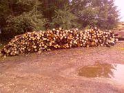 Brennholz in Meterstücken