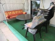 Gartentisch groß mit passenden Stühlen