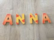 Holzbuchstaben Name ANNA