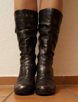 Schuhe, Stiefel - Neuwertige italienische Damenstiefel Stiefel Gr