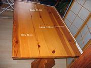 Tisch Kiefer massiv zu verschenken