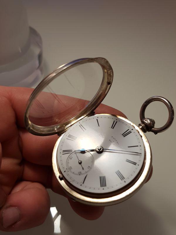 Sehr seltene Taschenuhr von Francis