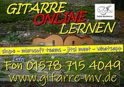 Gitarre spielend spielen lernen - online