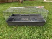 Kleintierkäfig auch für Transport geeignet