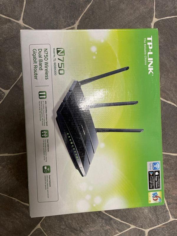 DP Link N750 WLAN Router
