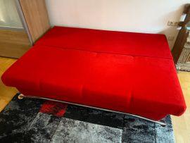 Polster, Sessel, Couch - Sofa Couch mit Schlaffunktion und