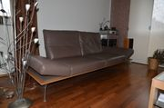 Sehr modernes elegantes Musterring-Sofa mit