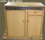 Küchenblock Kühlschrank Gaskocher Spüle Unterschrank