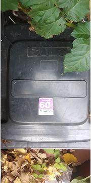 Zwei Mülltonnen 60l von sulo