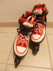 Inline-Skates Rollerblades - rot weiß