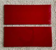 2x Ikea TOFTA Schubladenfront rot