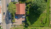 Luftaufnahmen von ihrem Haus Grundstück