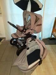 Dreirad-Kombi Kinderwagen