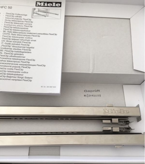 Miele FlexiClip - Vollauszüge HFC 50