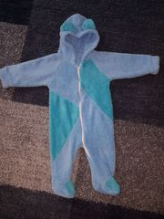 Baby-Overall blau Größe ab 3