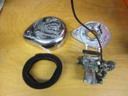Harley Davidson Vergaser und Luftfilterdeckel