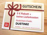 Verschenke Picnic Gutschein für Erstbesteller