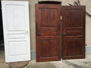 1 ältere Tür Türblatt