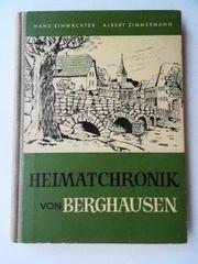 Heimatchronik von Berghausen im Pfinztal
