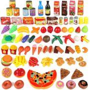 135 Stück Küchenspielzeug Set Schneiden