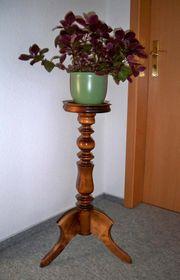 Blumenständer Echtholz