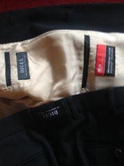 Schwarzer Digel-Markenanzug Größe 44