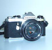 Fotoapparat mit 50mm-Objektiv