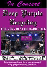Deep Purple Recycling rockt am