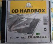 5 CD Hüllen Hardbox Jewelcase