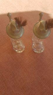 Schnapsglas Stiefel mit Gamsbart